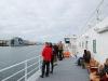 Ausfahrt aus dem Hafen in Bodø