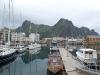 Der Hafen von Svolvaer