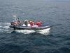 Mittlerweile hatten wir Gesellschaft von einem weiteren Expeditionsboot bekommen...