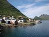In Gryllefjord geht's von der Fähre