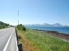 Mit Rückenwind ging's raus aus Tromsø