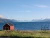 Kein Hotel oder Zimmer in Olderdalen, also weiter den Lyngenfjord hinauf