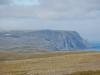 Dann der erste Blick aufs Nordkapp - sind aber immer noch 21 Kilometer