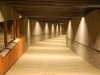 Der etwa 100 Meter lange Tunnel...