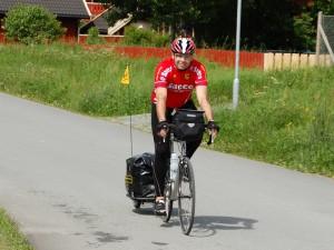 Fahrrad mit Anhänger