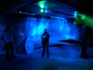 Simulierte 1000 Meter Wassertiefe im Wal-Museum