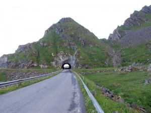 Tunnel kurz vor Andenes