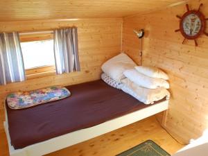 Eines meiner zwei Schlafzimmer für heute Nacht
